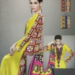 New Turkish Linen Dresses 2012-13 Designs For Women By Lala Textiles 007