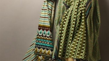Orient Textiles Latest Winter Khaddar Dresses 2012-13 For Women 001