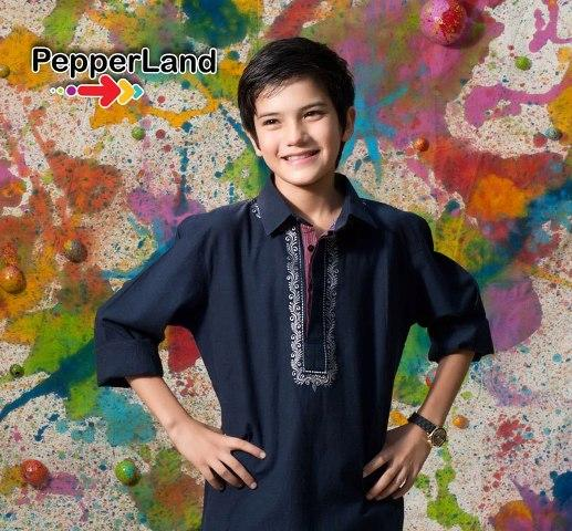 Peperland Latest Fall Winter Dresses 2012-13 For Kids 001