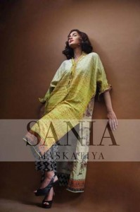 Sania Maskatiya Latest Winter Dress Collection 2012-13 For Women (2)