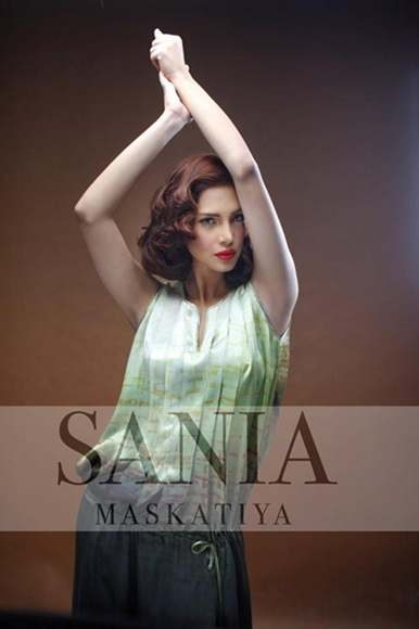 Sania Maskatiya Latest Winter Dress Collection 2012-13 For Women (3)