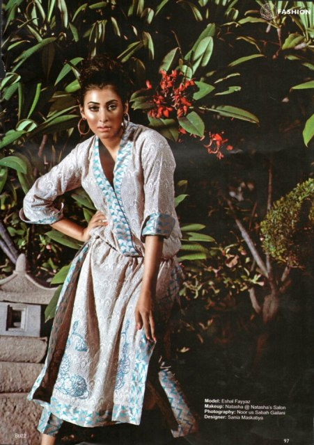 Sania Maskatiya Women wear Luxury Pret dress Collection 2012-13 (1)