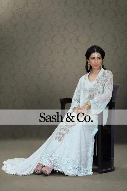 Sash & Co Latest Winter Party Dresses 2012-2013 For Women 001