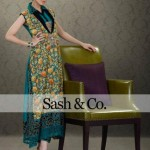 Sash & Co Latest Winter Party Dresses 2012-2013 For Women 003
