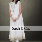 Sash & Co Latest Winter Party Dresses 2012-2013 For Women 004
