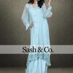 Sash & Co Latest Winter Party Dresses 2012-2013 For Women 005