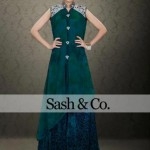 Sash & Co Latest Winter Party Dresses 2012-2013 For Women 006