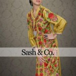 Sash & Co Latest Winter Party Dresses 2012-2013 For Women