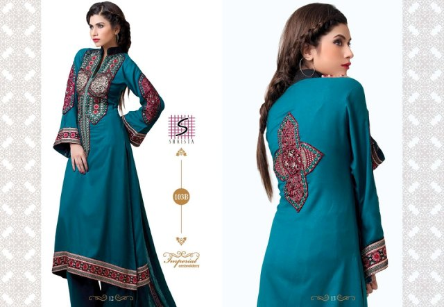 Shaista Party Wear Winter Dress Collection 2012-13 For Women (4)