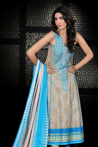 Umar Sayeed Latest Winter Dress Collection 2012-13 For Women (11)
