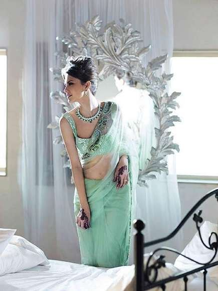 Uzma Creation Latest Sarees Collection 2012-13 For Women (3)