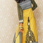 Warda Designer Latest Embroidered Winter Dresses 2012-13 With Amna Ilyas 001