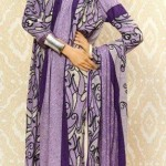 Warda Designer Latest Embroidered Winter Dresses 2012-13 With Amna Ilyas 002