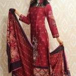 Warda Designer Latest Embroidered Winter Dresses 2012-13 With Amna Ilyas 003