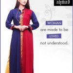 Zahra Ahmad Latest Winter Dresses 2012 13 For Women 002
