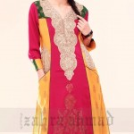 Zahra Ahmad Latest Winter Dresses 2012 13 For Women 008
