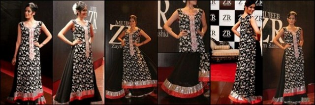 Zayn Rashid Latest Party Wear Dress Collection 2012-13 For Women