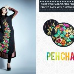 stylish Pehchan party wear Winter Dress Collection 2012-13 for ladies