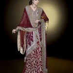 Ahsan Hussain Latest Bridal Wear Collection 2013-14 For Women (1)