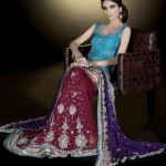 Ahsan Hussain Latest Bridal Wear Collection 2013-14 For Women (2)
