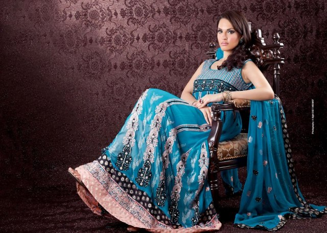 Ahsan Hussain Latest Bridal Wear Collection 2013-14 For Women (5)