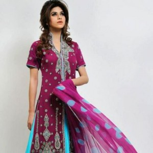 Ahsan Hussain Latest Bridal Wear Collection 2013-14 For Women (6)