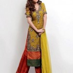 Ahsan Hussain Latest Bridal Wear Collection 2013-14 For Women (8)