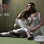 Ambreen Bilal Latest Semi Formal Winter Dresses shoot 2013