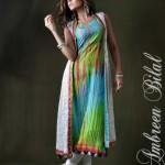 Ambreen Bilal Latest Women Semi Formal Winter Dresses 2013 004