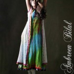 Ambreen Bilal Latest Women Semi Formal Winter Dresses 2013 006