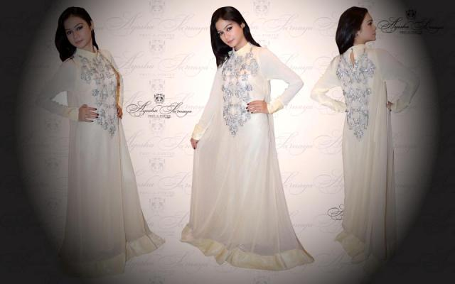 Ayesha Somaya Latest Semi-Formal Wear Winter Collection 2013 For women