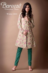 Bareeze New Winter Arrival Latest Collection 2012-2013 For Women (1)