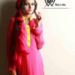 Black & White Couture Latest winter Collection 2012-13 for Ladies