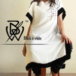Black & White Couture Latest winter Dress new Collection 2012-13 for Women
