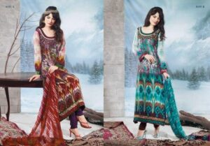 Charizma Latest Pure Printed Pashmina Winter Dresses 2012-2013 For Women 001