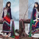 Charizma Latest Pure Printed Pashmina Winter Dresses 2012-2013 For Women 002