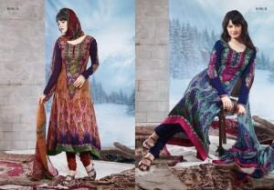 Charizma Latest Pure Printed Pashmina Winter Dresses 2012-2013 For Women 003