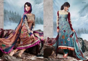 Charizma Latest Pure Printed Pashmina Winter Dresses 2012-2013 For Women 005
