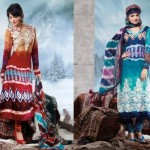 Charizma Latest Pure Printed Pashmina Winter Dresses 2012-2013 For Women 008