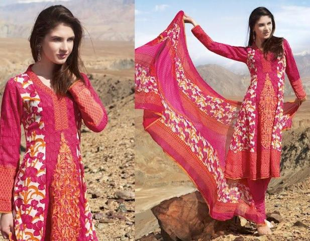 Charizma Latest Winter Dresses 2012-2013 For Women 006