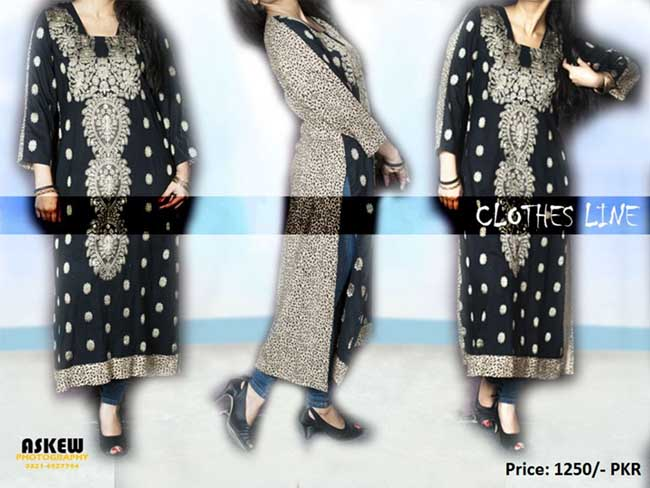 Clothes Line Winter Collection 2012-2013 For Women With Price