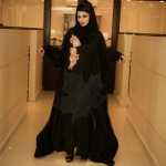 Latest Winter Abayas for Girls