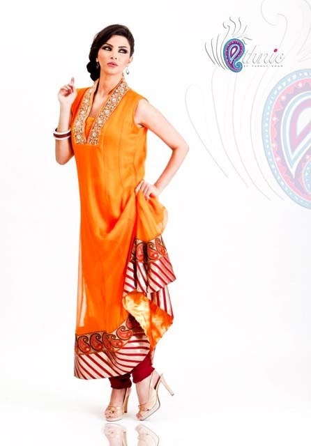 Ethnic Stylish Winter otufits New Collection 2012-13 for women (9)