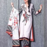 Five Star Textile Winter Dresses 2013 For Women 0010