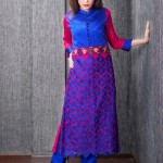 Five Star Textile Winter Dresses 2013 For Women 0011