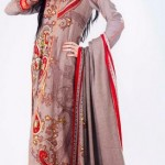 Five Star Textile Winter Dresses 2013 For Women 0015