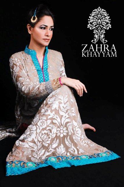 Formals & Semi Formal Dresses 2012-2013 For Women By Zahra Khayyam 003