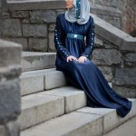 Girls & women Hijab abaya black Dark Knight 2013 new fashion by Amirah