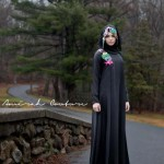 Graffiti Latest Hijab & Abayas Fashion Black Ice Winter Collection 2013