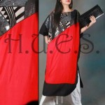 HUES latest fall winter dresses 2013 for women 0010